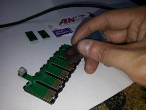 Счищаем налет ластиком
