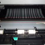 Вал переноса в принтере HP LaserJet P2055d